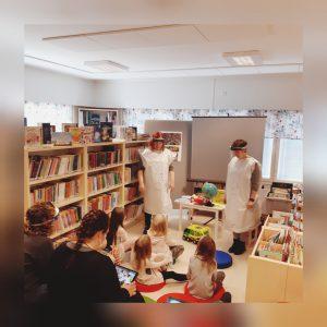 Klimatsagostund i Nykarleby bibliotek